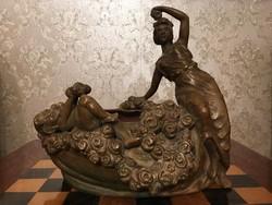 Bernhard Bloch Eichwald Terrakotta 27 cm