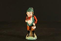 Porcelán Kobold Sp. 2158 Törp 7,5cm Hibátlan Mini Túrázó Figura