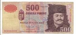 "500 forint 1998 ""EF"""