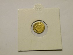 KK391 1861 1 peso Chile ritka érme