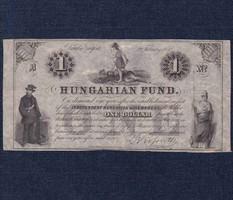 Kossuth emigrációs 1 Dollár 1852 New York R!/id 8921/