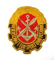 GST ,német katonai felvarró.