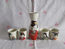 Japán szaké készlet