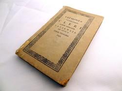 Catalogus venerabilis cleri almae dioecesis Vaciensis pro anno aerae communis 1834. Posonii