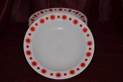 6 db Alföldi porcelán centrum varia mély tányér