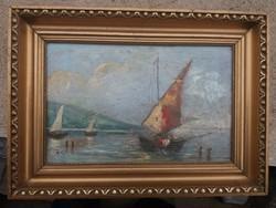 Rauscher Lajos hajósképe