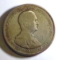 HORTHY MIKLÓS ezüst 5 pengős(640/100)
