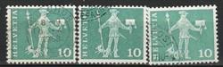 Svájc 0025 Michel 697 x,y  697 Ry     0,90 Euro