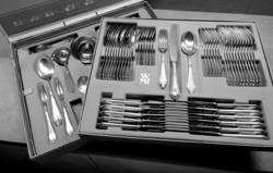 WMF Fächer ezüstözött evőeszköz készlet dobozban