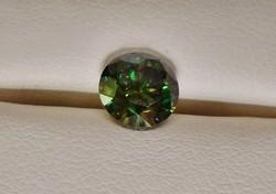 Szép valódi 1.2ct VS1 moissanite /moissanit  gyémánt Akció!!!