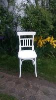Antik,jelzett csehszlovák kifejezetten kényelmes jó formájú masszív szék