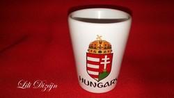 Magyarország / Hungary kerámia feles pohár
