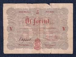 5 Forint 1848 Sor UR.k/id 8931/