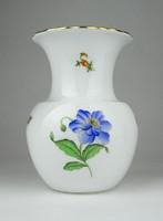 0X019 Régi Herendi porcelán váza 14.5 cm