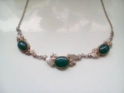 Csodaszép antik ezüst nyakék(szép míves darab!)