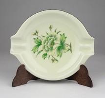 0X022 Vajszínű Hollóházi porcelán hamutál