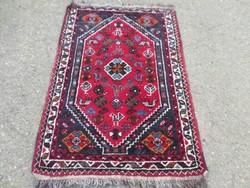 Iráni Siráz 100% gyapjú régi kézi csomózású gyapjú szőnyeg! 114cmx75cm