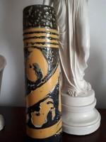 32cm magas dekoratív,retro stílusú váza.