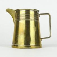 0X012 Régi réz kávéházi kiöntő 9 cm