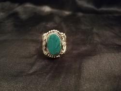 Antik ezüstözött gyűrű!