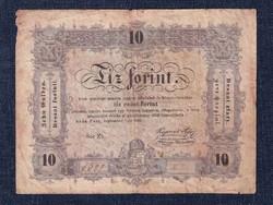 10 Forint 1848 sjatóhibás, büntetettnek/id 8929/