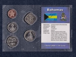 UNC Bahamai dollár 1992-2004 - Érme készletek a világon (id5533)