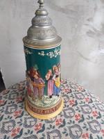 Antik Albert Jacob fedeles korsó