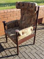 Retro karos szék, fotel, Lounge szék Parker Knoll