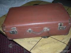 Antik vulkafiber bőrönd