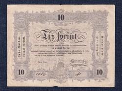Szép 10 Forint 1848/id 8925/