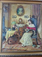 Apátfalvi Czene János - Enteriör