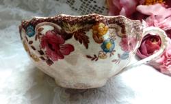 Antik Copeland nagy teás csésze