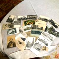 Antik képeslapgyűjtemény