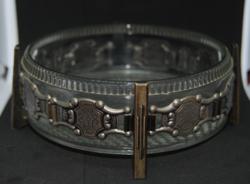Szecessziós stílusú antik kínáló - 16 cm átméröjű