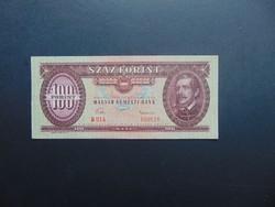100 forint 1957 RITKA évszám ! Szép bankjegy