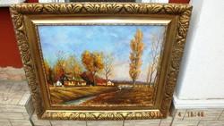 Gácsi Mihály, EREDETI alkotása mely,egy remekmű,65x80-s olaj farost
