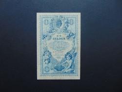 1 gulden - forint 1888 Nagyon szép bankjegy !