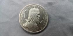 1938 Szent István fényes ezüst 5 pengő aUNC! Ritka érme!