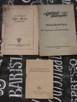 Úttörő kiadványok a '40-es '50-es évekből