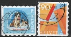Svájc 0070 Michel 1760-1761     2,00 Euro