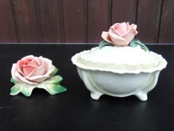 Ens rózsa és rózsás bonbonier