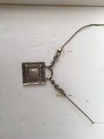 Izraeli ezüst nyaklánc, nyakék (Shablool Didae)
