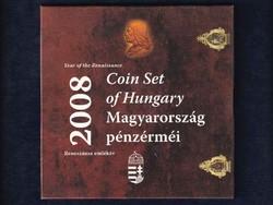 2008-as BU forgalmi sor - Reneszánsz emlékév Hunyadi ezüst fantáziaverettel/id 8966/