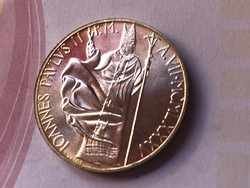 1975 vatikáni ezüst 1000 líra 14,6 gramm 0,835 R