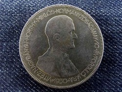 Hajas Horthy ezüst 5 Pengő 1930 - Magyar Királyság/id 7006/