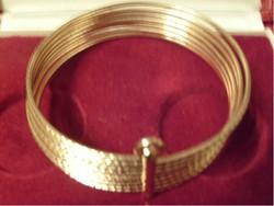 7 soros Gold Filled Arany Bevonatú. karperec ritkaság ajándékozhatóan