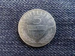 Ausztria - ezüst 5 Schilling 1960/id 8993/