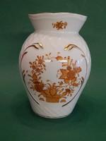 Herendi indiai kosár mintás váza