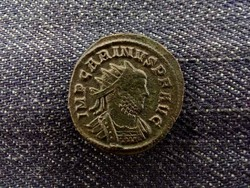 Carinus ezüstözött Antoninianus AEQVITAS AVG. ritka verdejel!/id 8585/