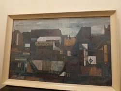 Wéber Klára képcsarnokos festmény
